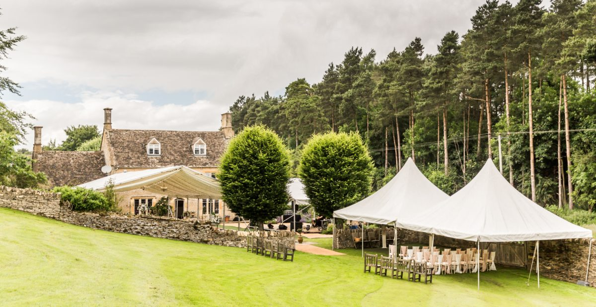 private house wedding in Cotswolds