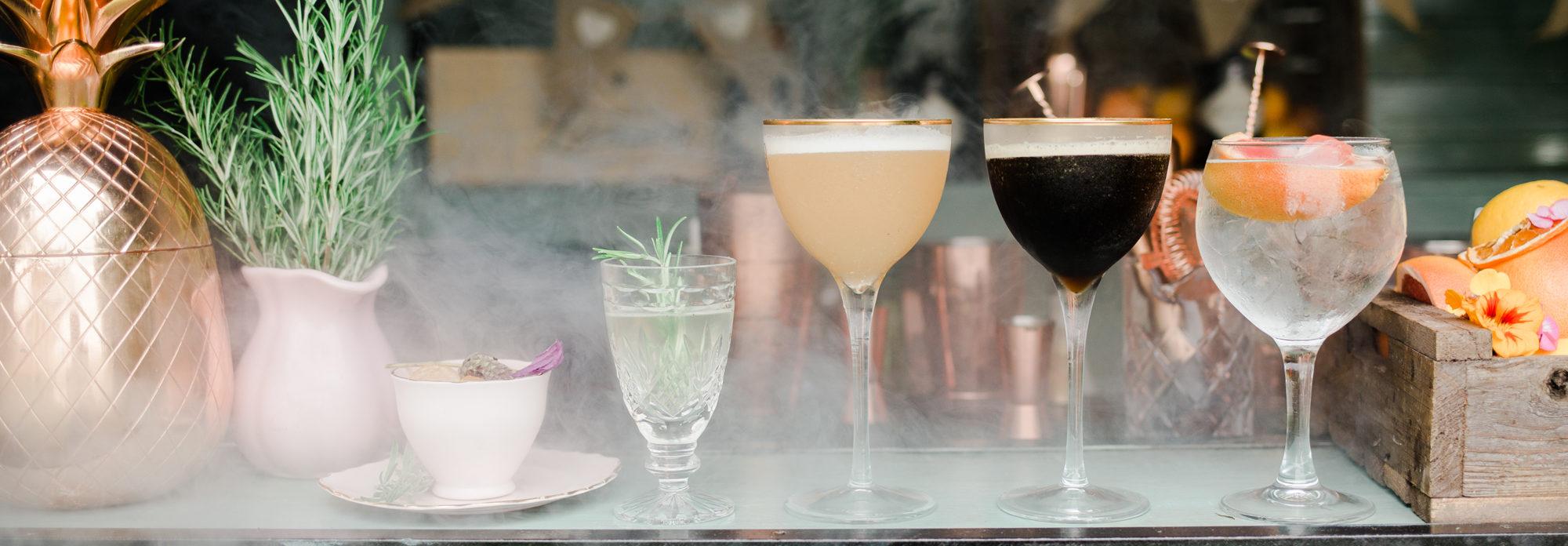 Wedding planning Warwickshrie cocktails