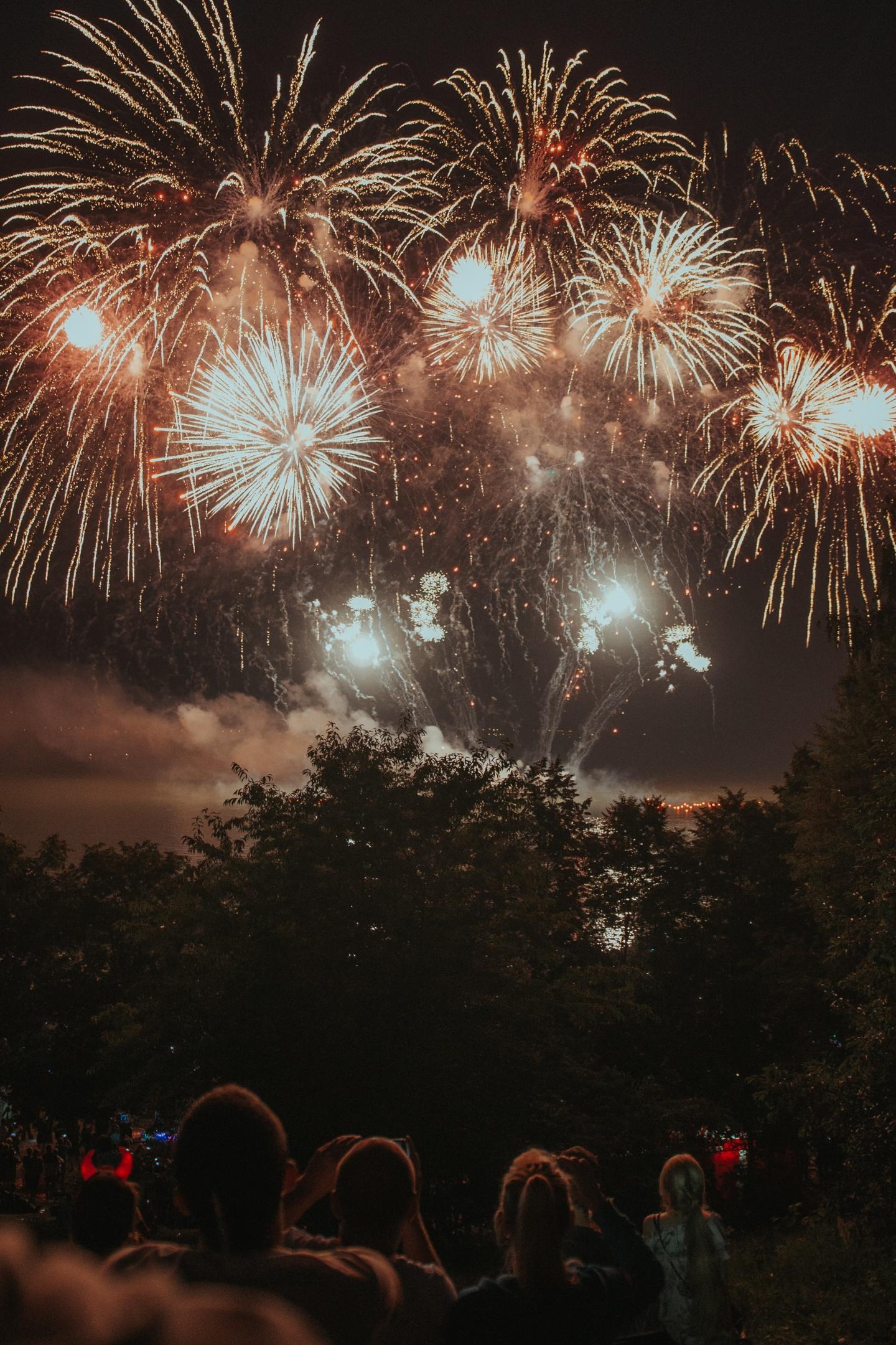 Fireworks warwickshire