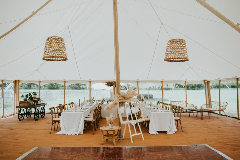 Marquee wedding dream