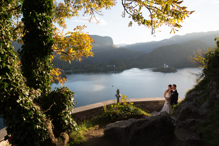 Bled Castle wedding