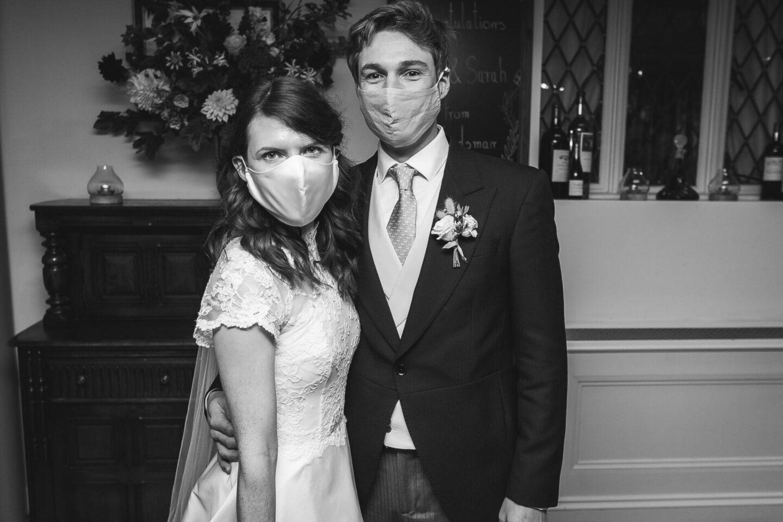 micro wedding in Covid England