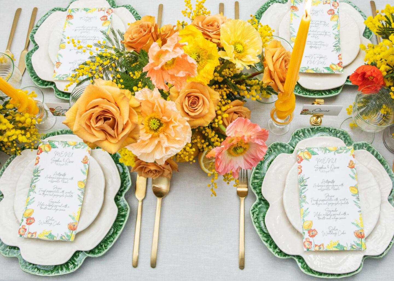 Spring table palette