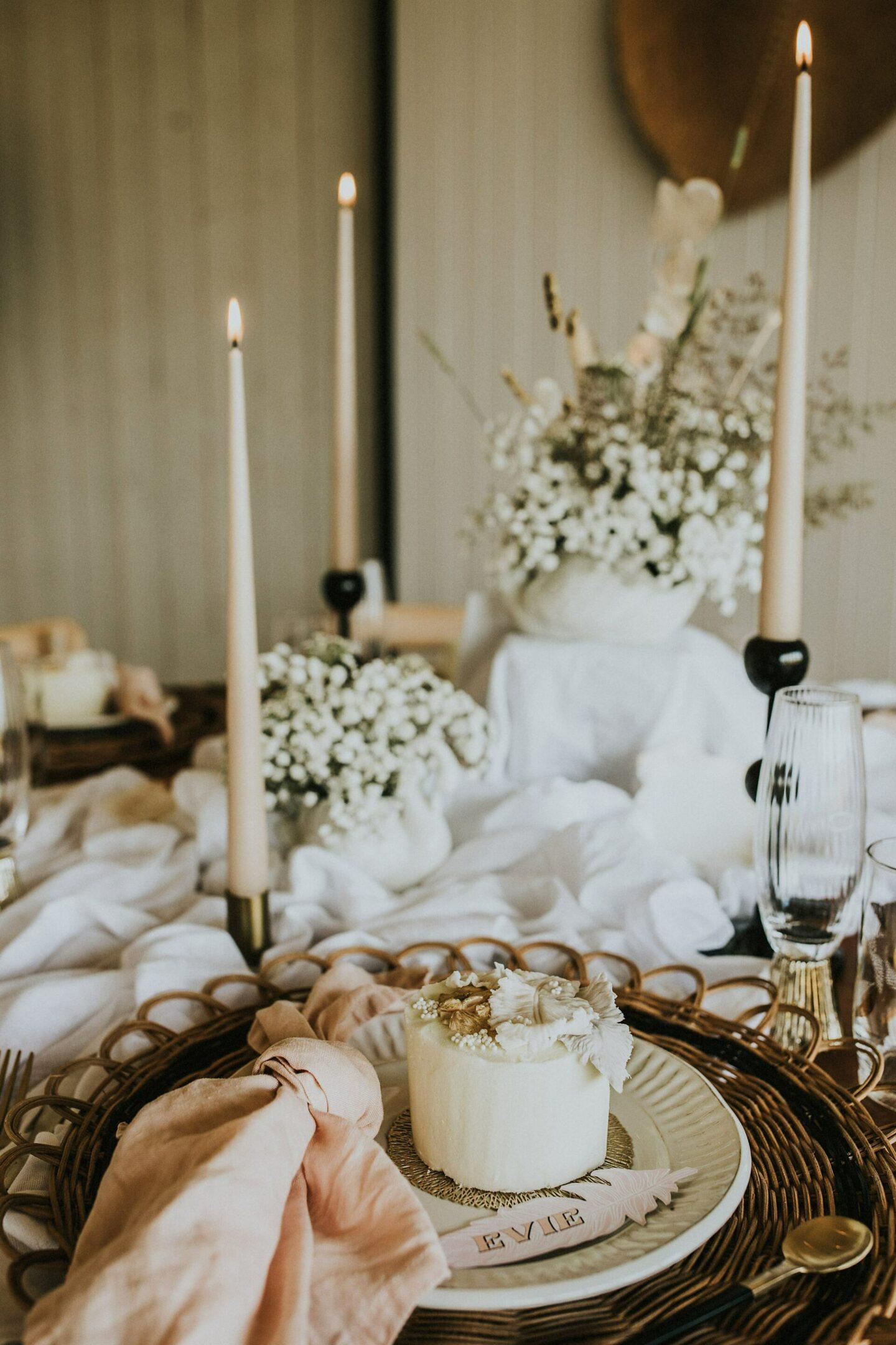 Boho wedding table inspiration