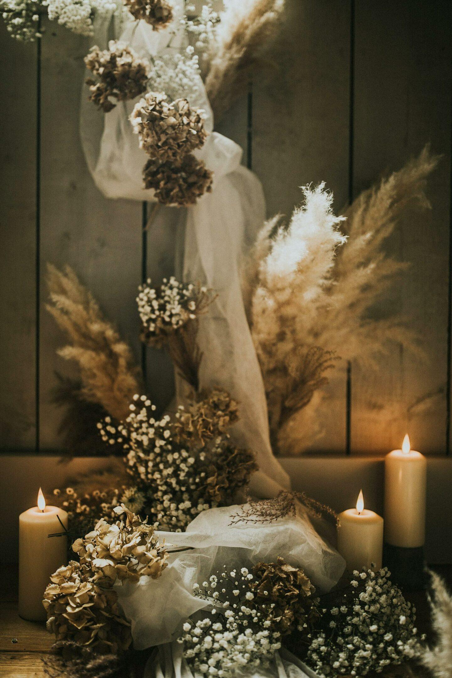 Bohemian luxury wedding