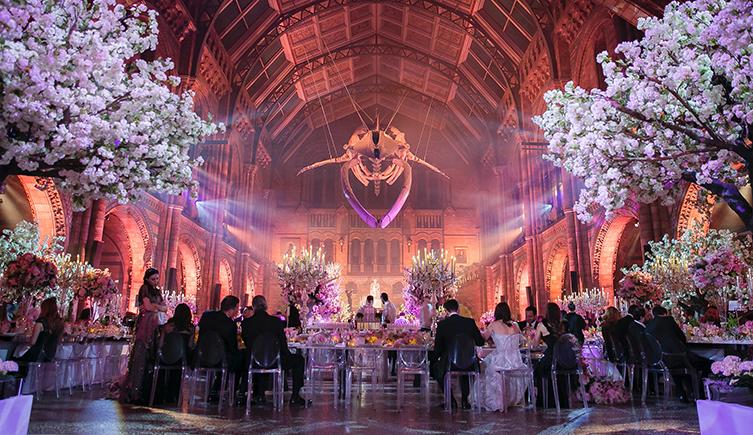 natural museum london wedding venue