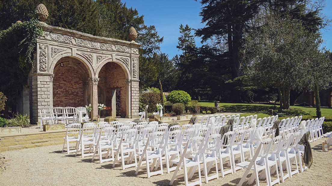 Ettington park wedding ceremony