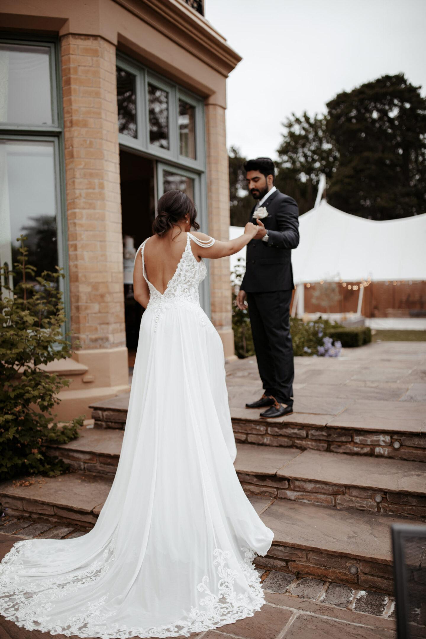 bridal back drop