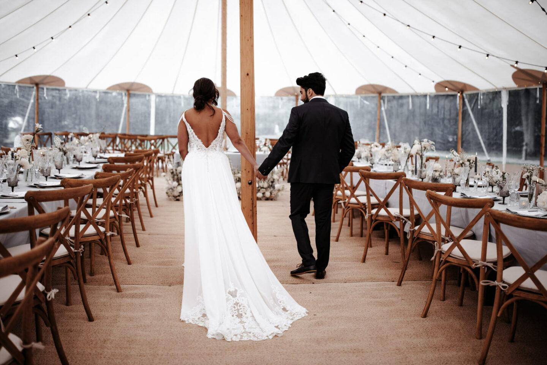 sperry tent uk white wedding